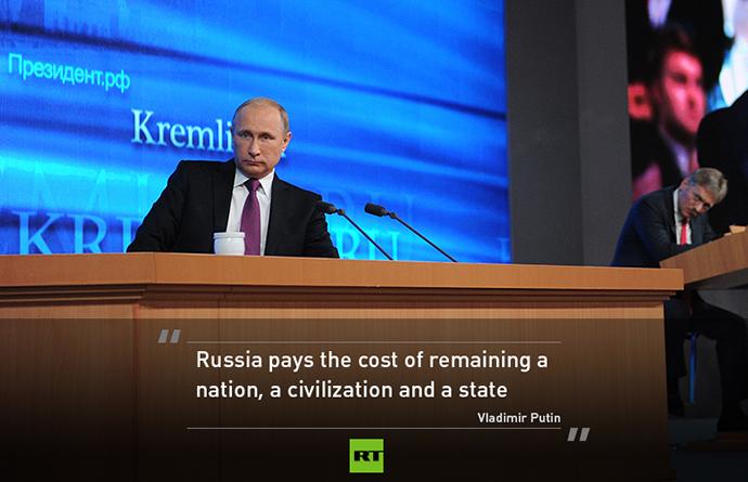 Putin warnt: Niedriger Ölpreis wird auch Westen in Mitleidenschaft ziehen