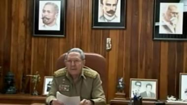 Rede des kubanischen Präsidenten Raúl Castro zur Normalisierung der  Beziehungen mit den USA