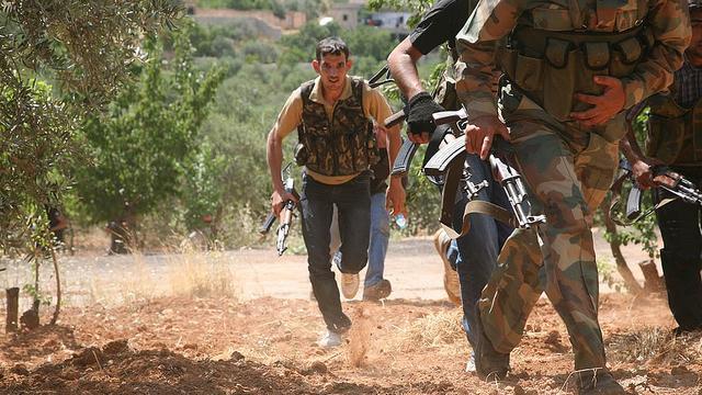 USA entsenden hunderte Militärs zur Ausbildung von syrischen Kämpfern
