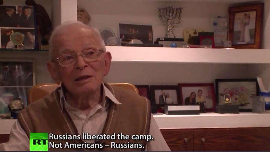 """Auschwitz-Überlebende: ,,Die Russen haben das Lager befreit, nicht die Amerikaner, die Russen!"""""""