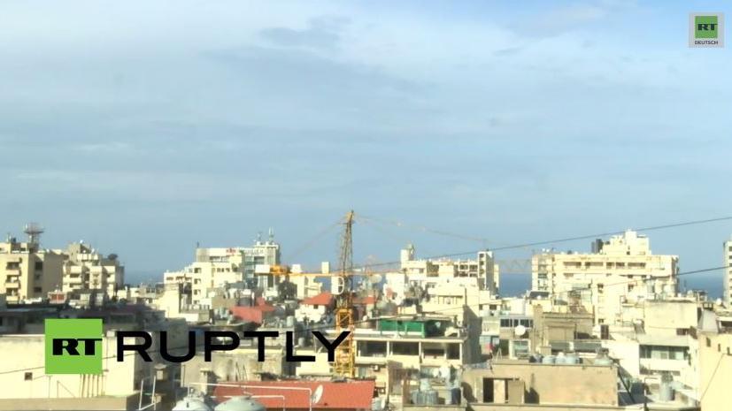 Ruhe vor dem Sturm? Permanenter RT-Livestream aus Beirut