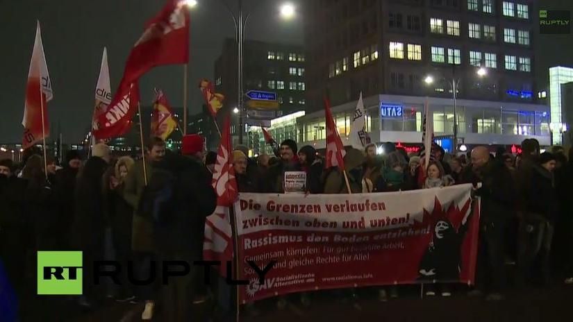 Livestream: BERGIDA und Gegendemo heute in Berlin