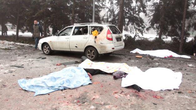 Tödlicher Beschuss eines humanitären Zentrums in Donezk - RT-Bericht