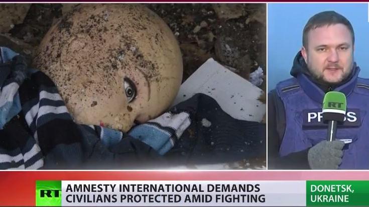 """Amnesty International wirft Ukraine """"wahllosen Beschuss von Wohngebieten"""" vor"""