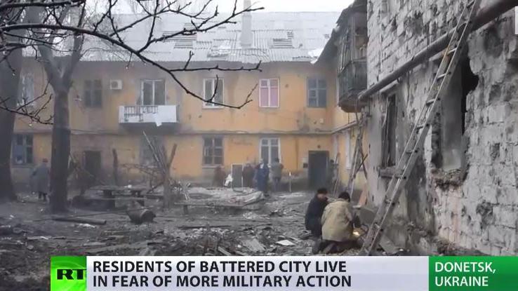 Angst und Verzweiflung - RT berichtet über das Leid der Zivilbevölkerung im Donbass