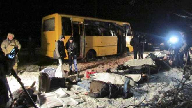 Gemeinsame Untersuchung von OSZE, Kiew, Russland und Donezker-Volksrepublik zu tödlichem Bus-Angriff