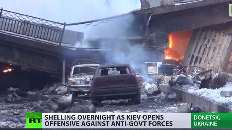 Ukraine auf Kriegskurs – Viele zivile Tote und Verletzte in Donezk