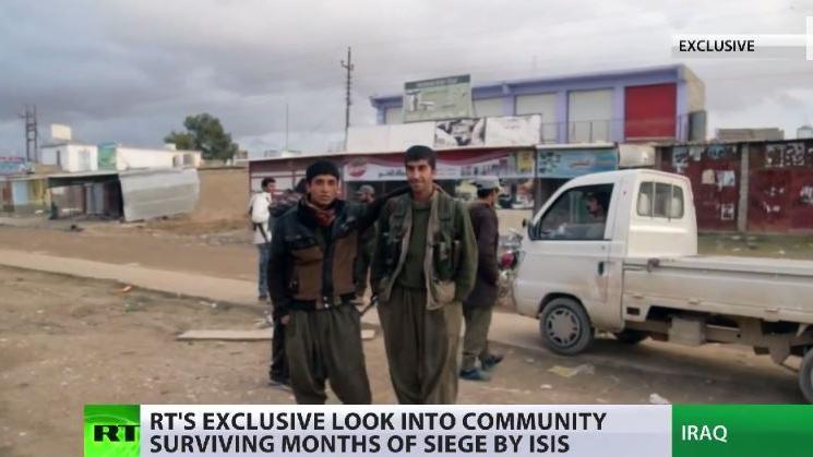 RT-Exklusiv: Bericht über vom IS eingeschlossene Gebiete im Nord-Irak