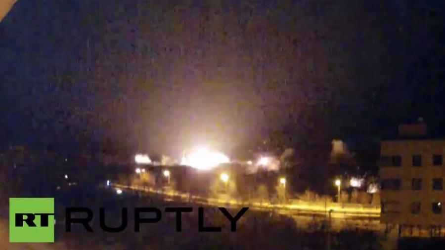 Permanenter Live-Stream vom umkämpften Flughafen in Donezk