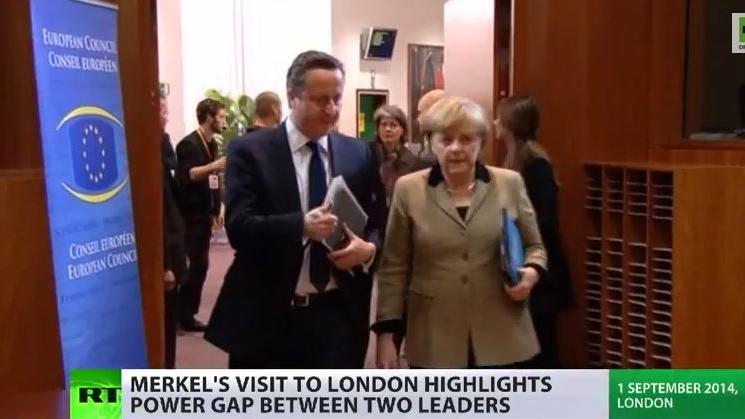 Merkel in London – Die Tante bei ihrem Lieblingsneffen?