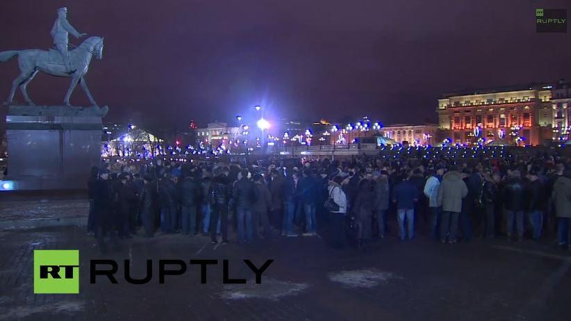 Livestream aus Moskau: Demonstration für russischen Oppositionspolitiker Nawalny