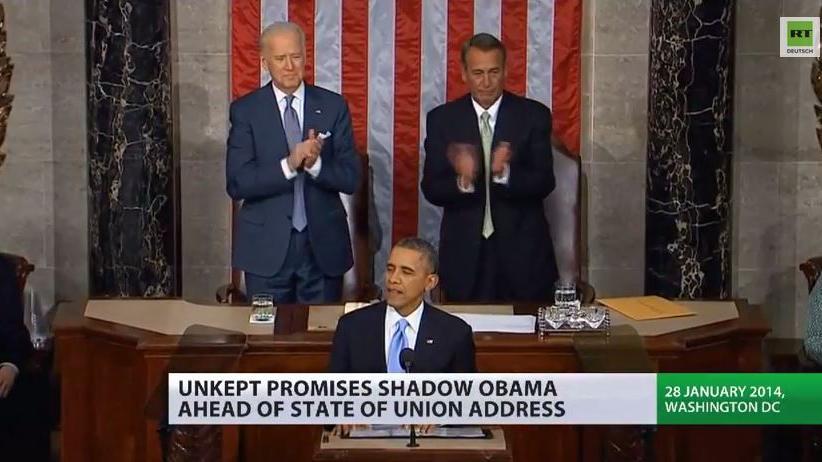 Wieder leere Versprechen? - Obamas Rede zur Lage der Nation