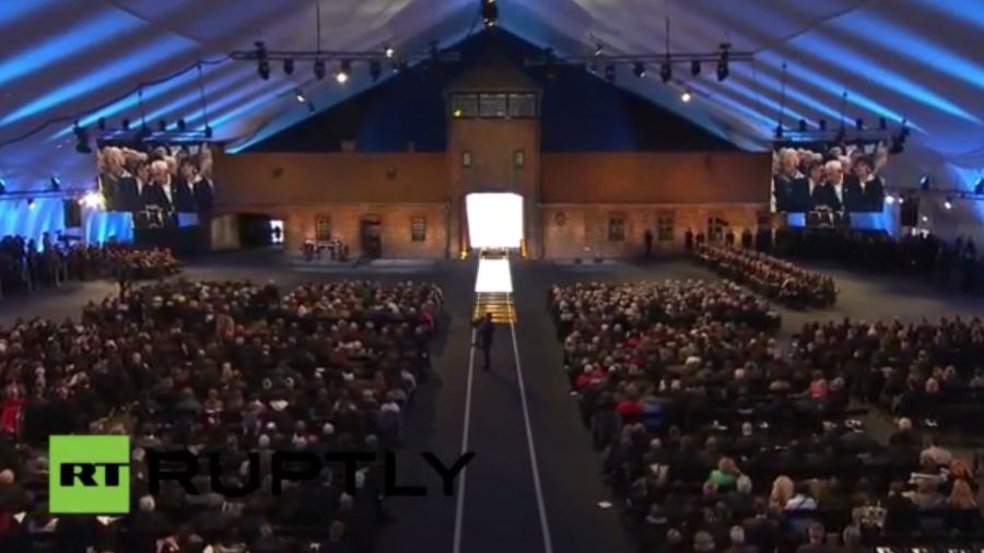 Live: Gedenkveranstaltung zum 70. Jahrestag der Befreiung von Auschwitz und Theresienstadt