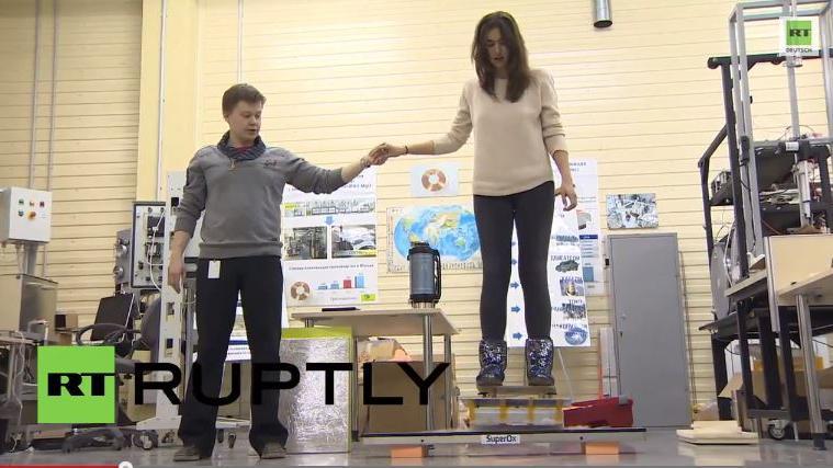 """""""Zurück in die Zukunft"""" mit russischem Hoverboard"""