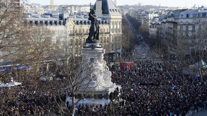 Live-Stream aus Paris: Trauermarsch der Hunderttausenden