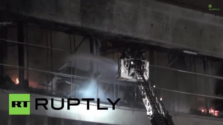 1,5 Millionen Bücher in Moskauer Bibliothek durch Brand zerstört