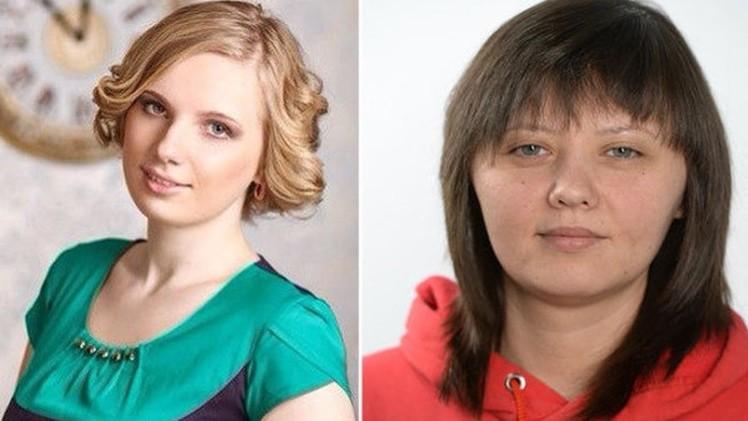 Die beiden vom SBU festgehaltenen Journalistinnen - Quelle: LifeNews