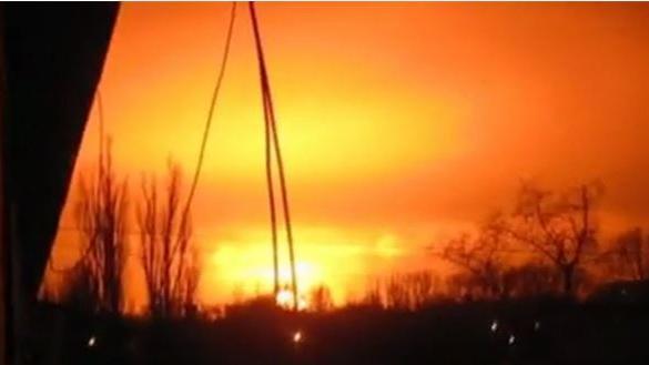Nach Raketen-Beschuss durch ukrainische Armee: Explosion in Donezker Chemiefabrik