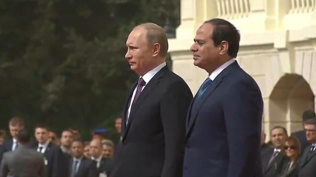 Putin auf Staatsbesuch in Ägypten: Gemeinsame Freihandelszone und Abkehr vom US-Dollar