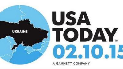 """Neuer Realismus? Frontseite von """"USA Today"""" bringt Ukraine-Karte ohne Krim"""