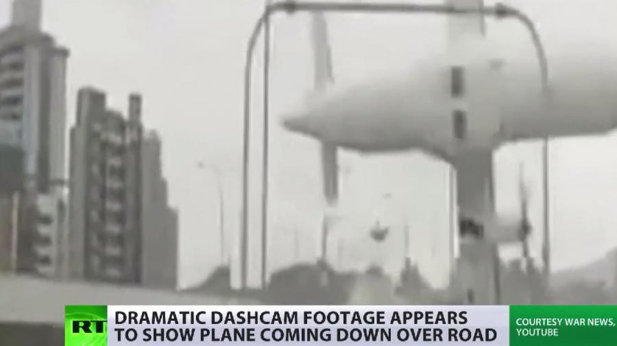 Autokamera nahm zufällig Absturz der TransAsia Airways Maschine in Taipeh auf