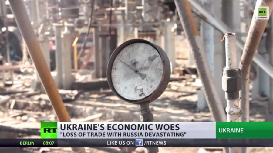 Ukraine am Rande des wirtschaftlichen Kollaps