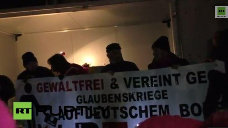 LIVE: PEGIDA Demonstration in Dresden