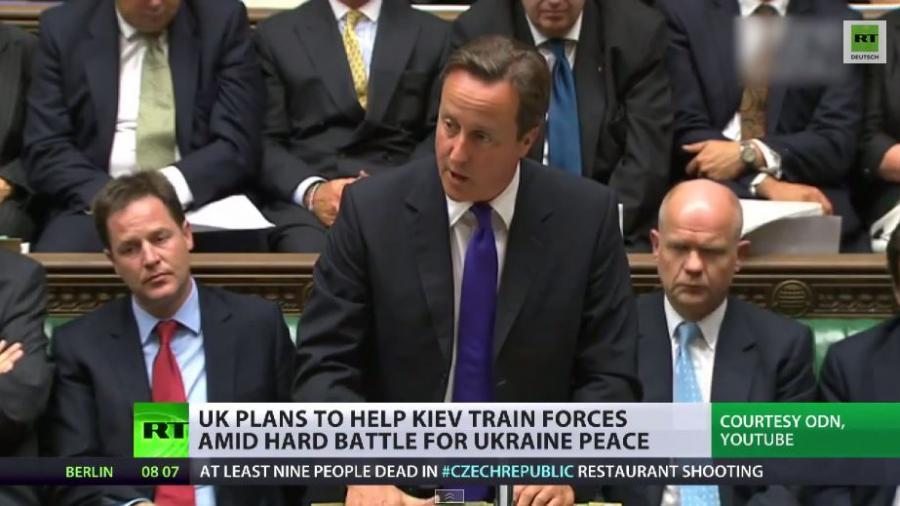 David Camerons Ukrainekurs - Krieg statt diplomatischer Lösung?