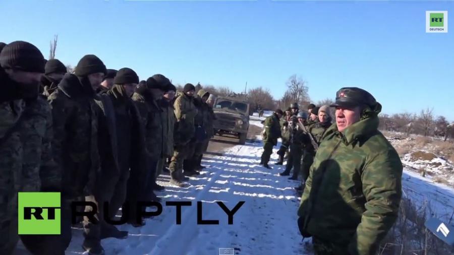 """Donezker-Kommandeur zu ukrainischen Soldaten:""""Ihr könnt nach Hause, niemand wird euch etwas tun!"""""""
