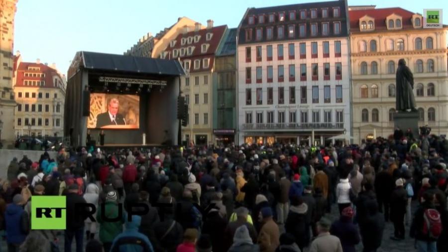 Live: 70. Jahrestag Bombardierung Dresden - Offizielle Gedenkveranstaltung