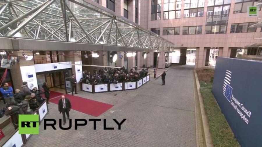 LIVE: Treffen der EU-Regierungschefs und PK Martin Schulz zu Minsk und Griechenland