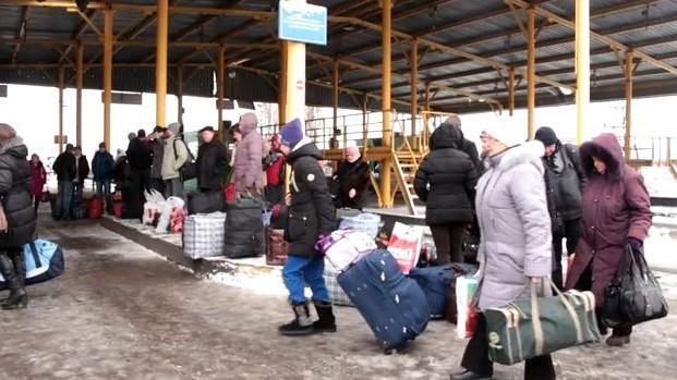 Fast 1 Million Ukrainer auf der Flucht - Die Hälfte davon hat Bleibeanträge in Russland gestellt