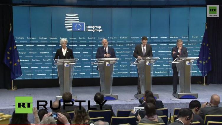 LIVE: Griechenland-Schulden als Spitzenthema bei Euro-Gruppen-Treffen