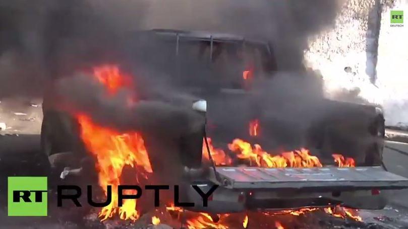 Haiti: Tränengas, brennende Autos – Antiregierungs-Protest eskaliert
