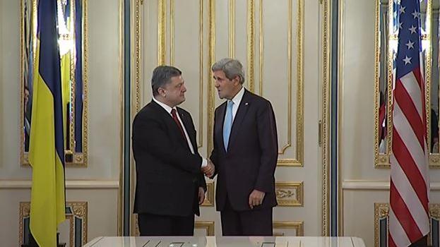 US-Außenminister Kerry in Kiew: Russland alleiniger Aggressor