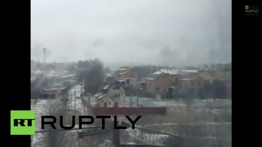 Ukraine: Massiver Raketenbeschuss auf Kramatorsk