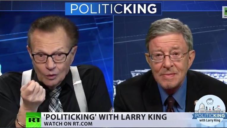 Larry King Show: Ukraine-Krise ist existenziell für Russland und ein geopolitisches Spiel für USA