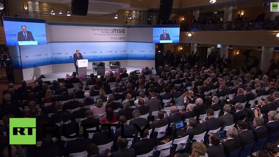 Lawrow in München: USA und EU haben auf jeder Stufe in der Ukraine eskaliert