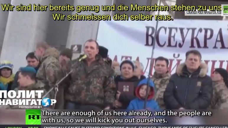 Die Geister die ich rief? Nationalgarde ruft zum Sturz von Poroschenko auf