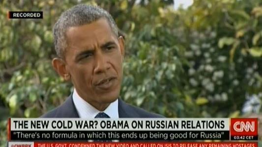 Obama im CNN-Interview: Wir überraschten Putin mit Deal zum Machttransfer in der Ukraine
