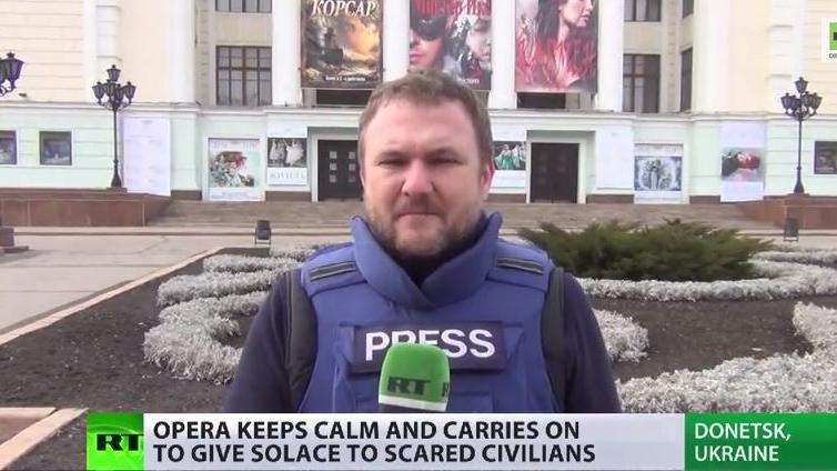 The Show must go on – Donezker Oper als Ausweg aus Gewalt und Zerstörung
