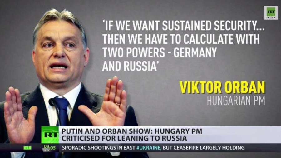 """Die """"bösen Jungs"""" der europäischen Politik - Putin und Orban treffen sich in Ungarn"""