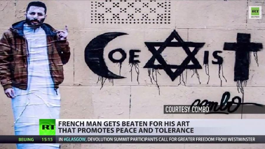 Frankreich: Intrareligiöser Friedensaktivist brutal zusammen geschlagen