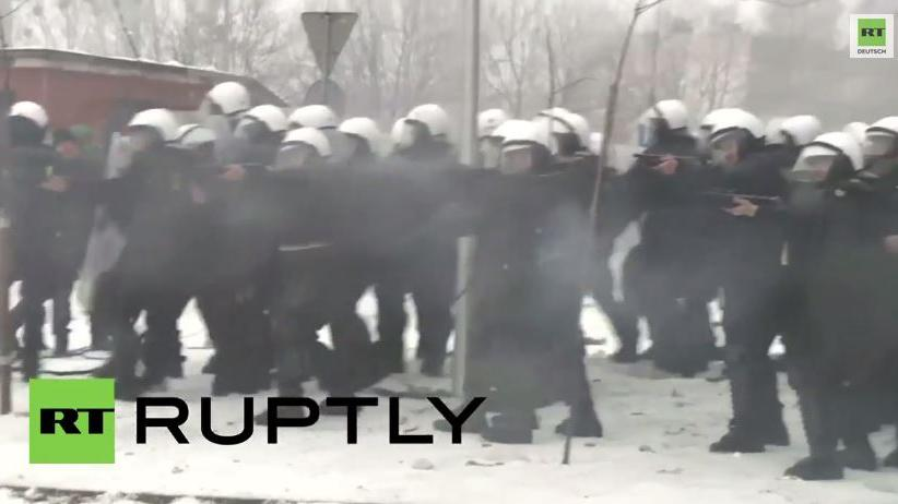Massive Polizeigewalt gegen Bergarbeiterproteste in Polen
