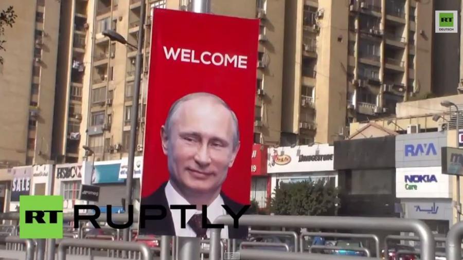 Ägypten: Hauptstadt bereitet sich auf Putins ersten Besuch seit 10 Jahren vor