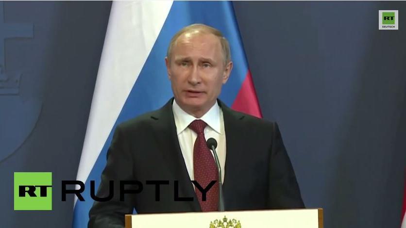 Putin: Nach unseren Informationen liefert der Westen bereits Waffen an Ukraine