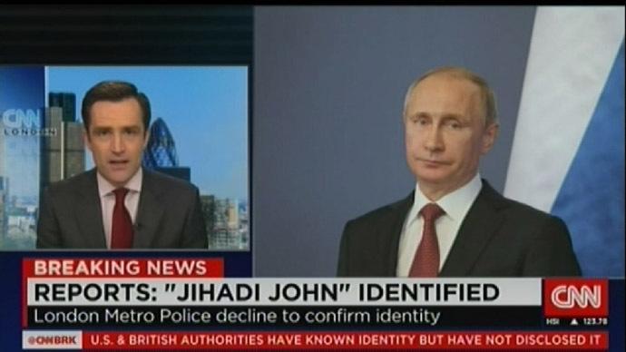 "Weitere Glanztat – CNN enttarnt ""Jihadi John"" als Putin"
