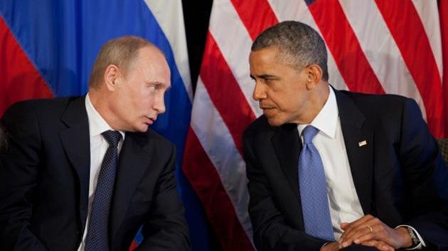 Telefonat zwischen Obama und Putin: Notwendigkeit friedlicher Lösung im Donbass