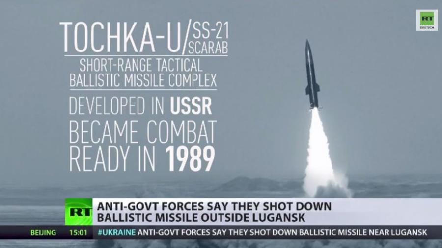 Kiew setzt taktische Totschka-U-Rakete gegen Ostukraine ein