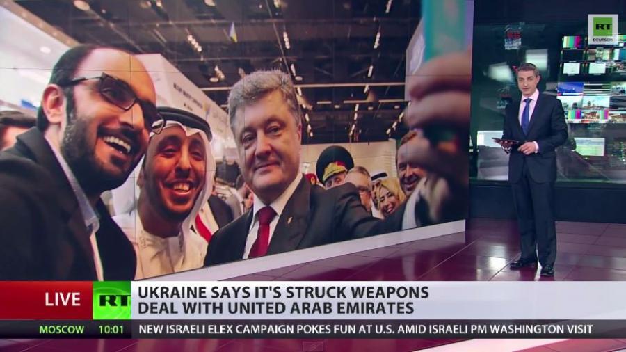 Inmitten der Friedensbemühungen holt Poroschenko neue Waffen